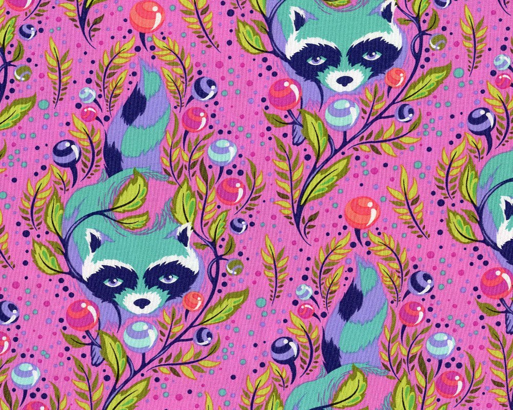 All Stars Raccoon Fuchsia