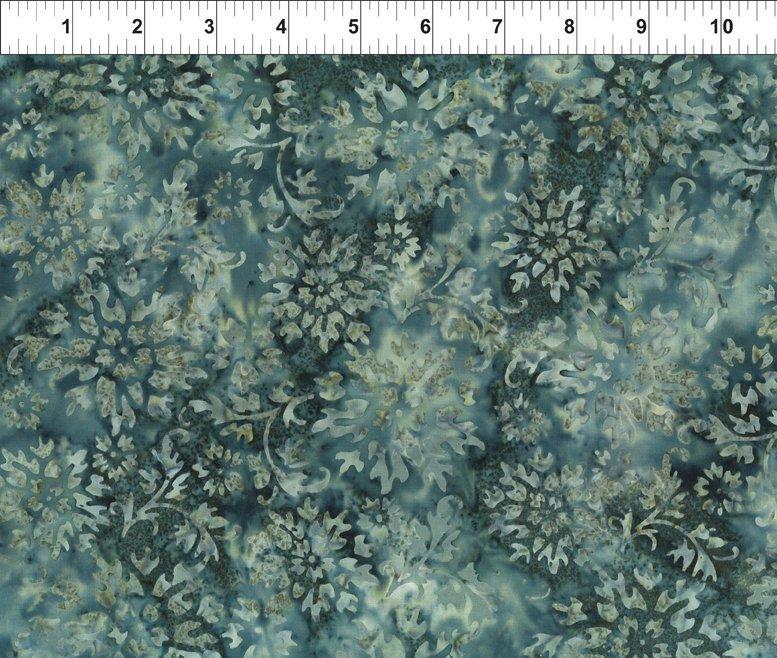 Floragraphix Batik 4 - Garden Charcoal