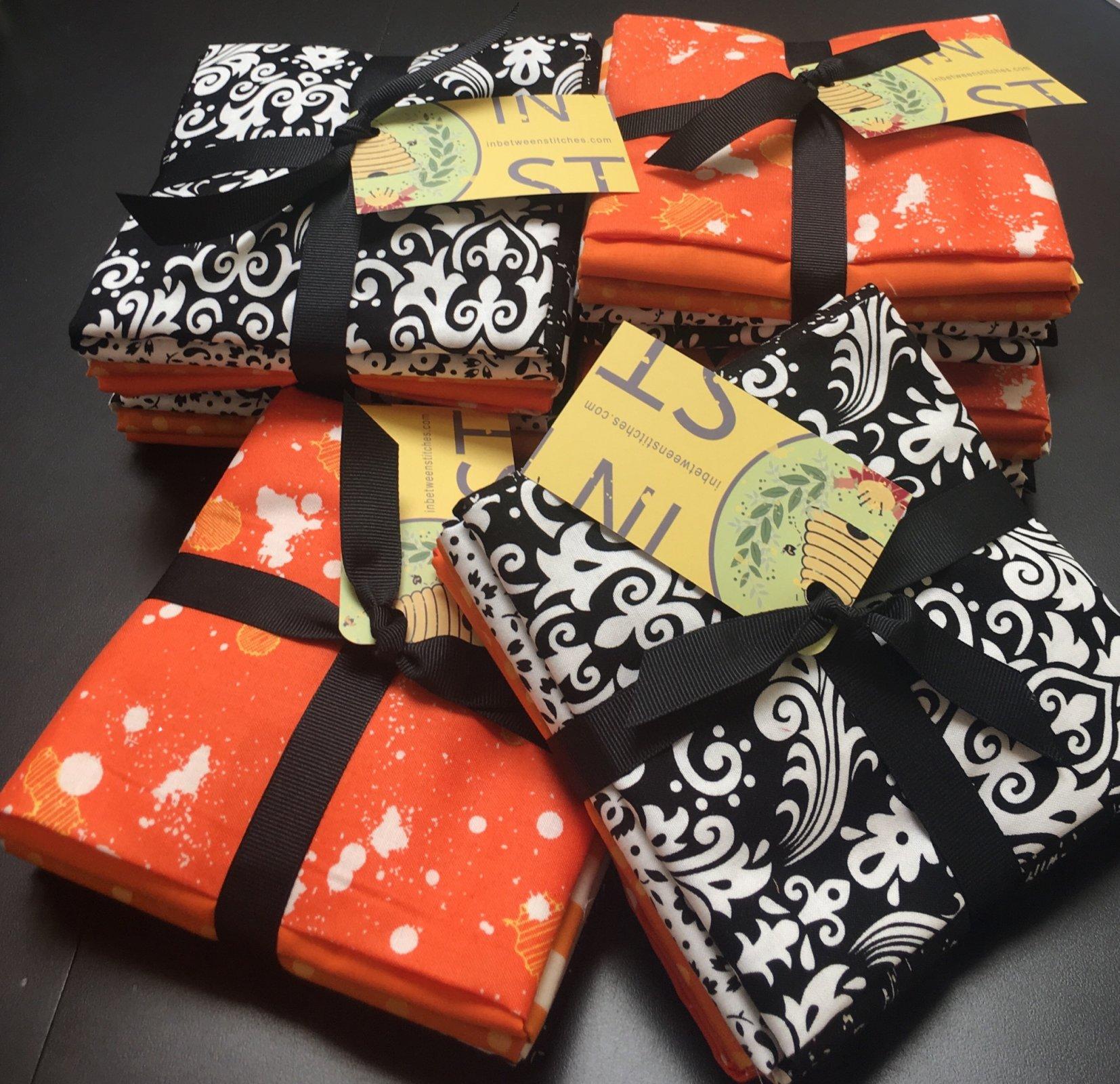 Black, White, & Orange 8FQ Bundle