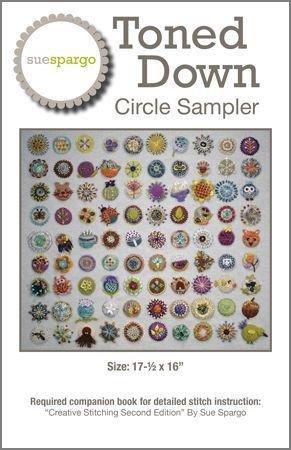 Tone Down Circle Sampler Pattern