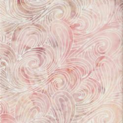 Malam Batiks Pink Swirl