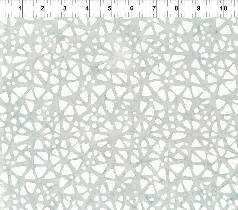 Floragraphix Batik 4 - Mosaic - Gray