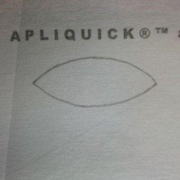 Apliquick 1-Sided Fusible Stabilzer