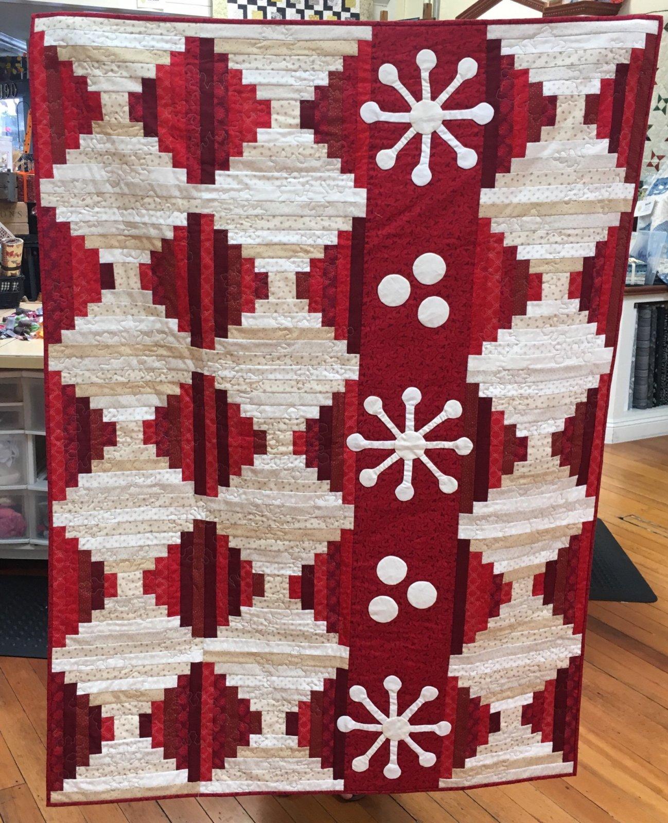 Christmas Cabin Quilt Kit