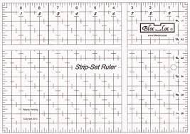 Strip Set Ruler 7 x 10