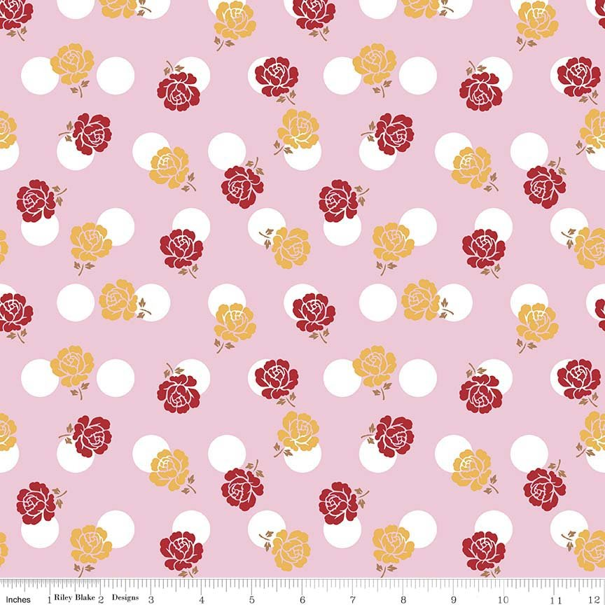 Sew Cherry 2 Pink Rose