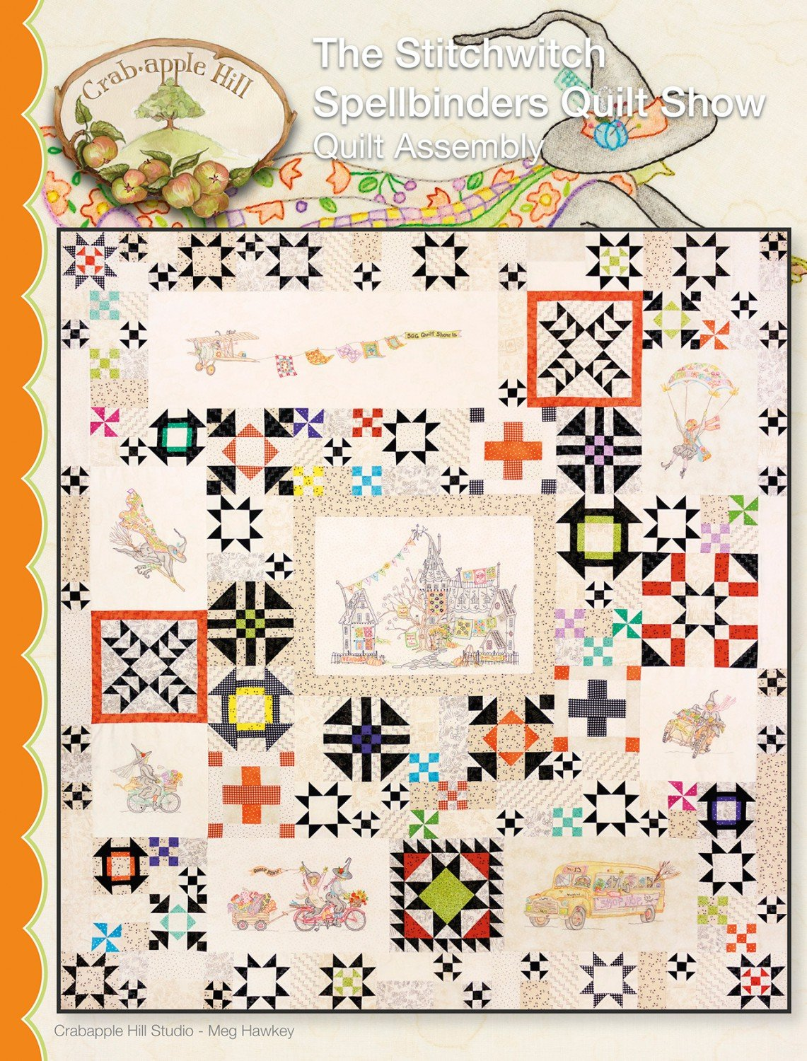 Spellbinders Stitchwitch Quilt - Complete Set