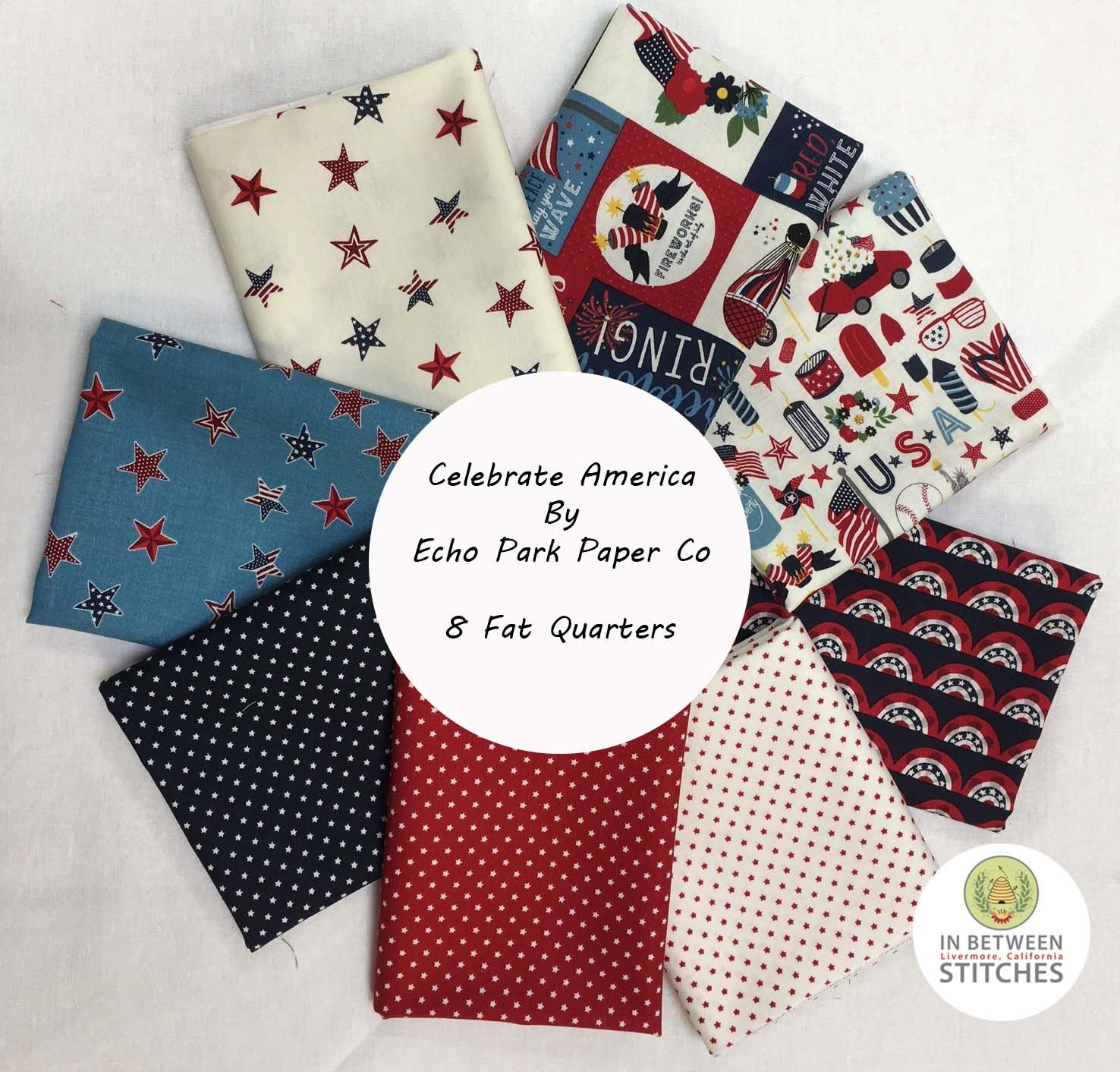 Celebrate America Fat Quarter Bundle