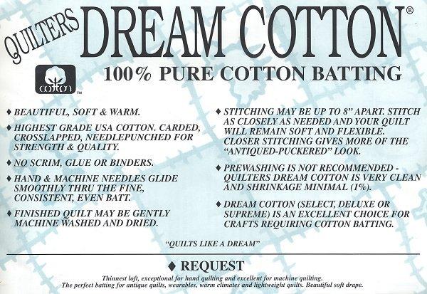 Quilters Dream Cotton Request Super Queen 93x121