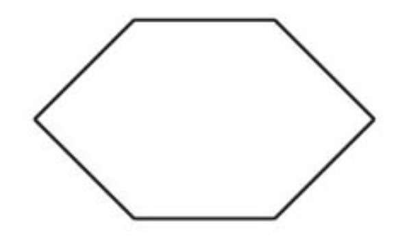 Elongated Hexagon