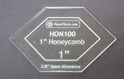 1 Honeycomb Acrylic Template