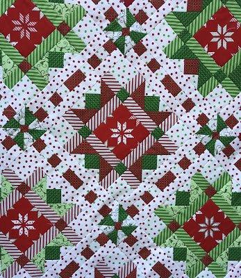 Christmas Ribbons Pattern