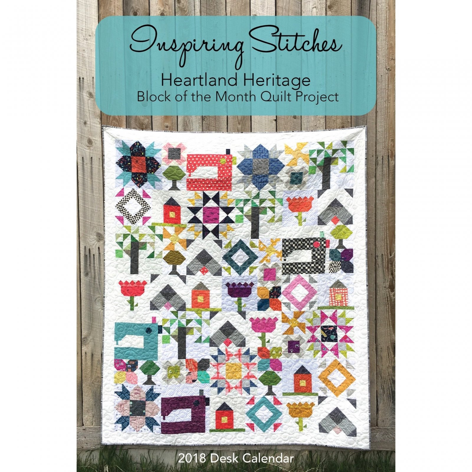 Heartland Heritage 2018 Desk Calendar