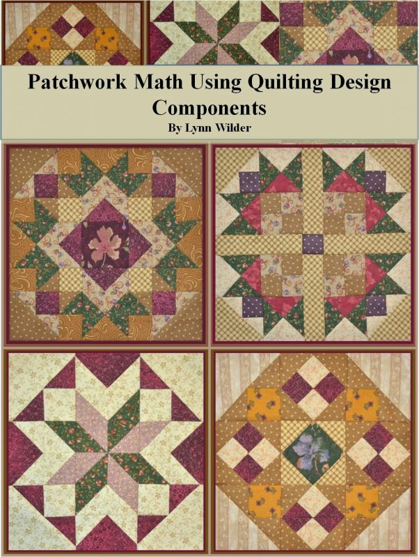 Patchwork Math Using Quilting Design Components