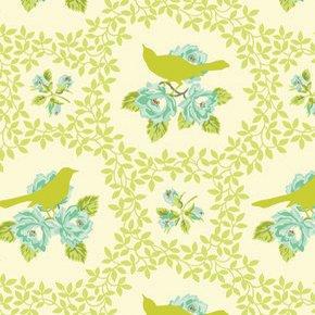 Parasol Mockingbird Chartruese