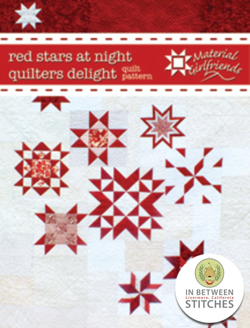 Red Stars at Night Quilters Delight