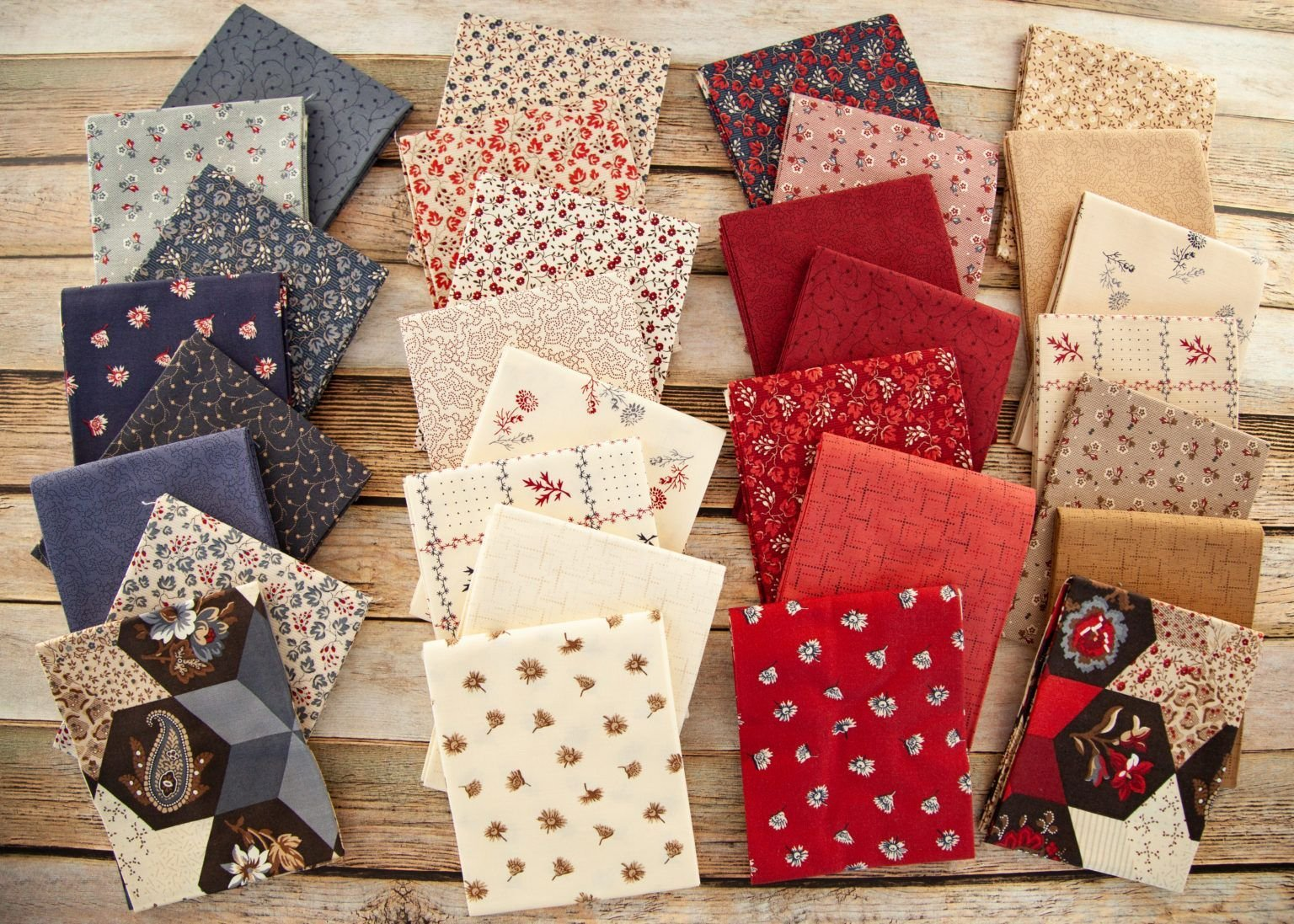 Seeds of Glory by Buttermilk Basin 30 Fat Quarters