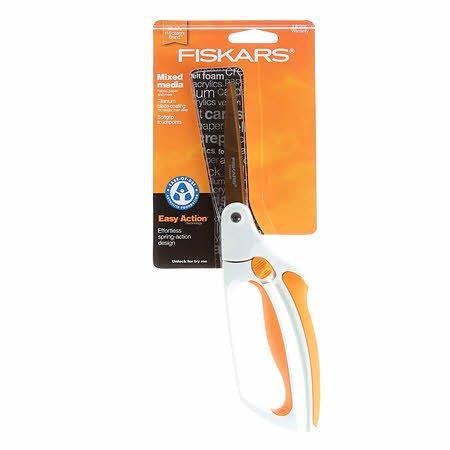 Fiskars Softouch large scissors