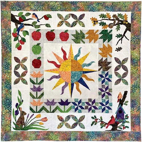 Trip Around the Sun Quilt Kit