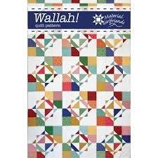 Wallah Quilt Pattern