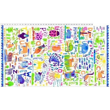 Animal Magic Panel Multi Bright 2890-56
