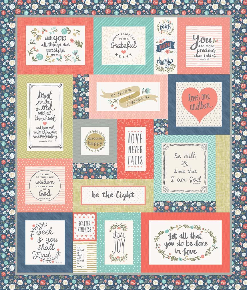Heart & Soul Quilt Kit