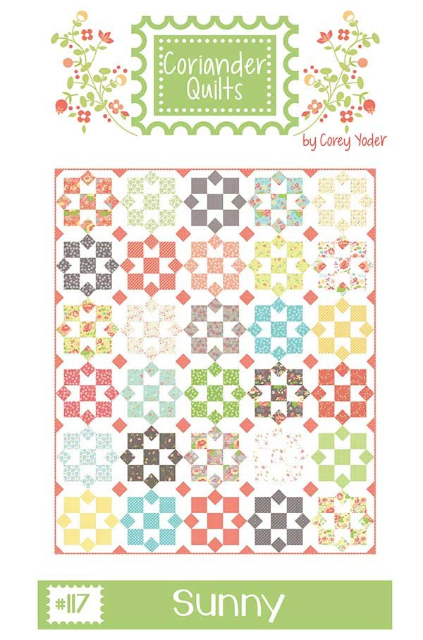 Sunny by Coriander Quilts CQ-117 Quilt Pattern