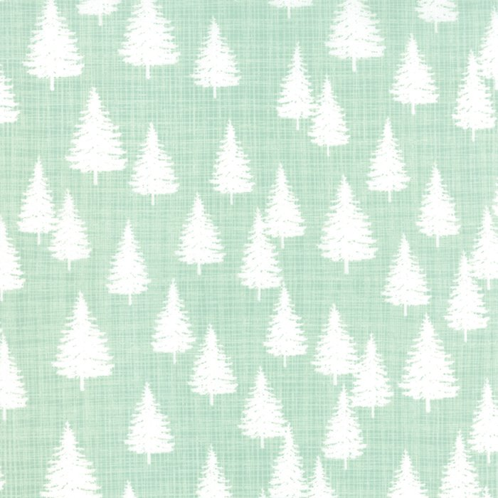Winterberry Forest Mint by Kate & Birdie for Moda 13143-14