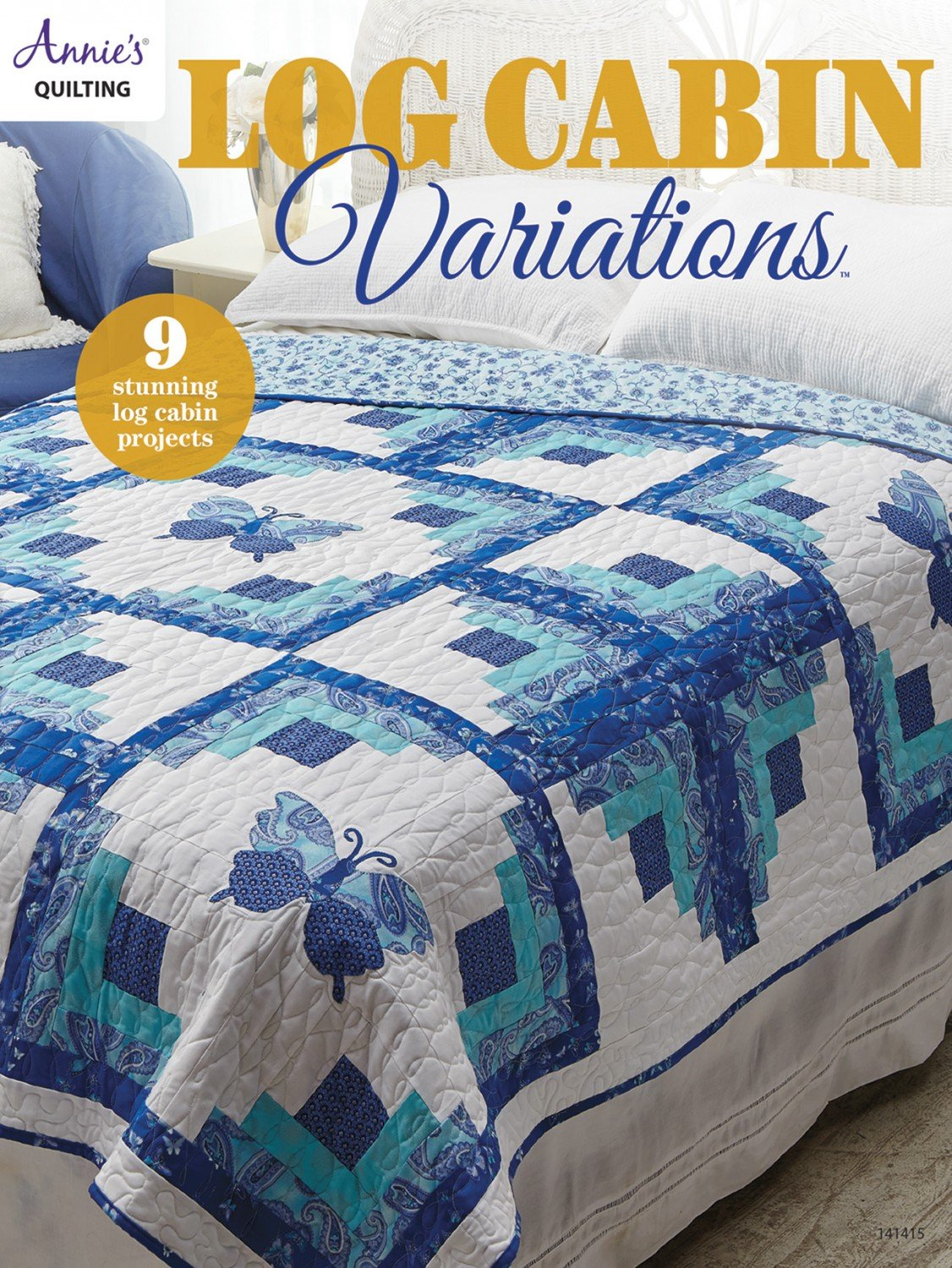 Log Cabin Variations by Annie's Quilting 141415