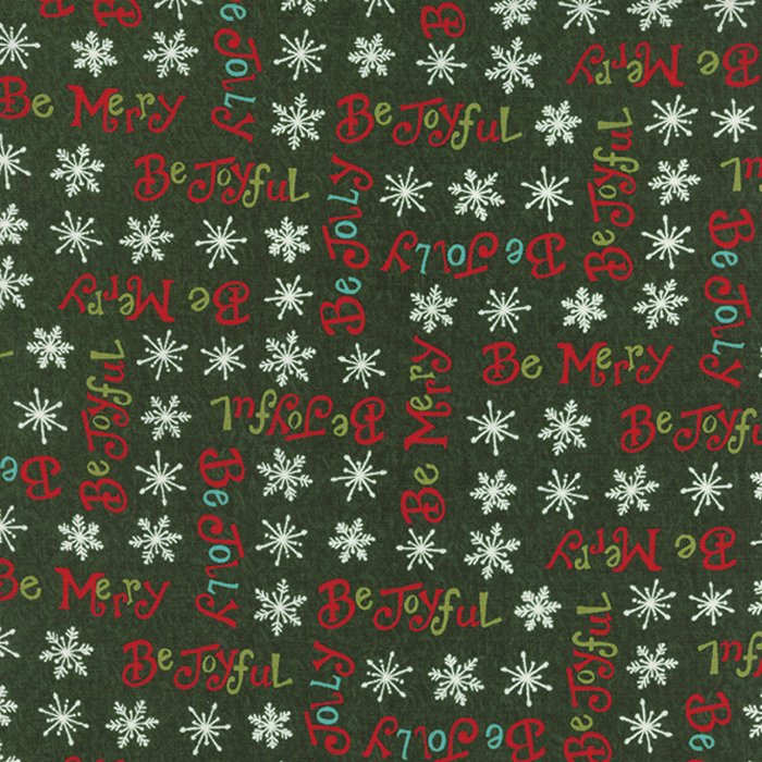 Be Jolly Pine Green Be Jolly Words 19672-12