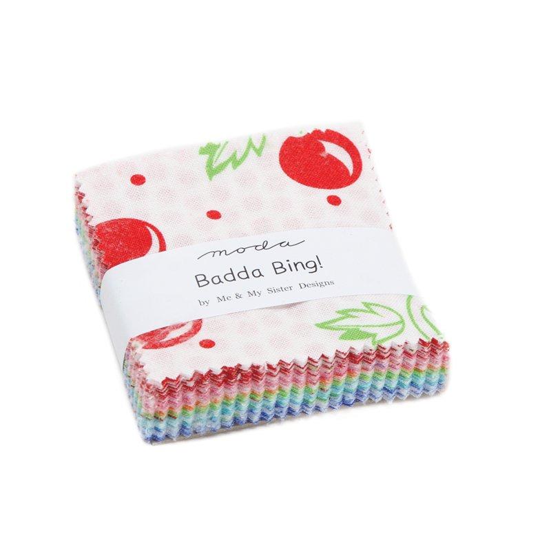 Badda Bing Mini Charm Pack by Me & My Sister for Moda 22340MC