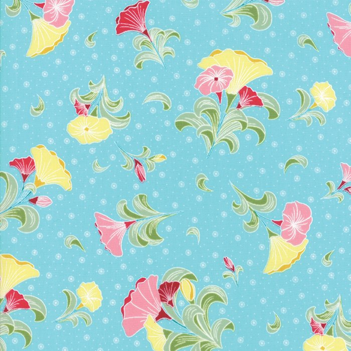 Pedal Pushers Sky Large Bouquet by Lauren & Jessi Jung for Moda 25080-15