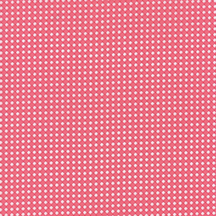 Pedal Pushers Raspberry Wicker by Lauren & Jessi Jung for Moda 25088-12