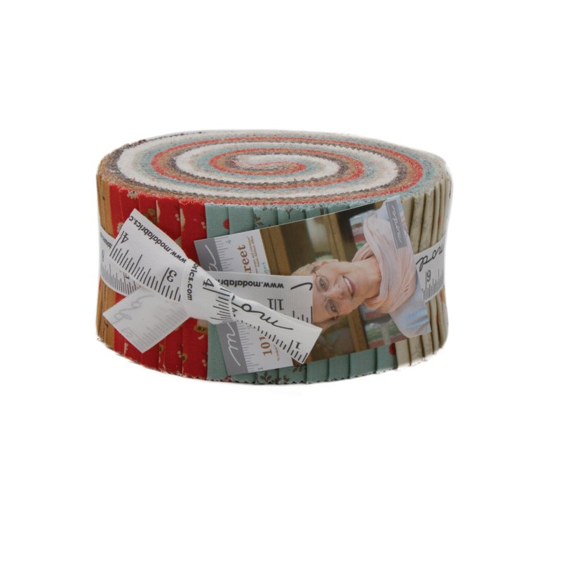 101 Maple Street Jelly Roll by Bunny Hill for Moda 2930JR