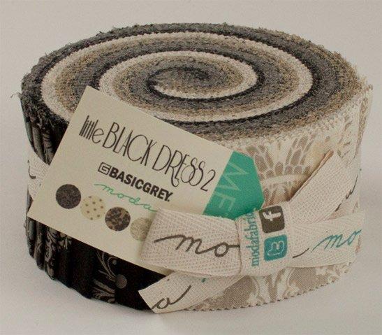 Little Black Dress 2 Jelly Roll by Basic Grey for Moda #30350JR