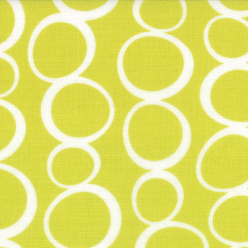 Mixed Bag Bubbles Lime by Studio M for Moda #32866-21