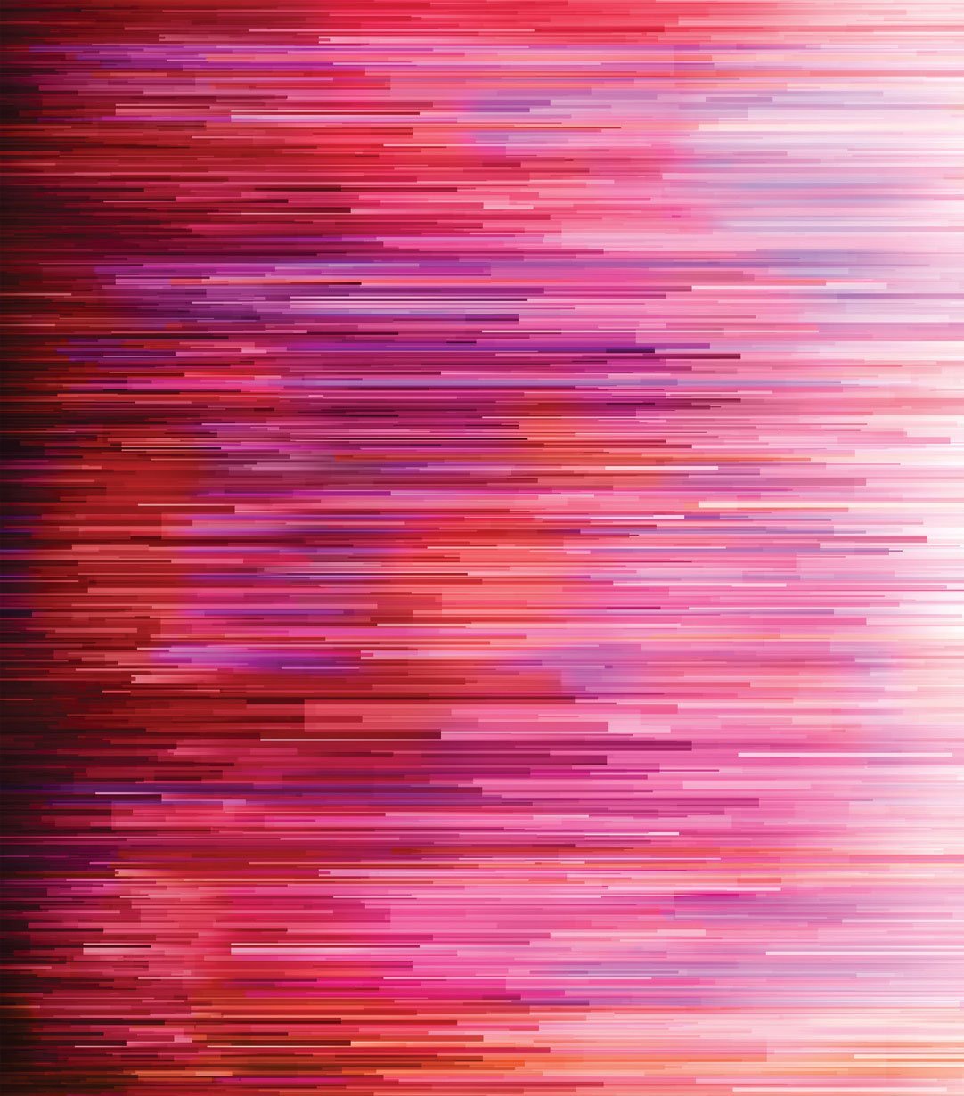 Gradients Digital Reds & Pinks Fragmented Stripe by Moda Fabrics 33362-11D