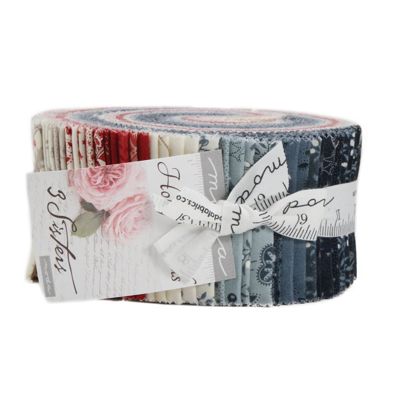 Holly Woods Jelly Roll by 3 Sisters for Moda 44170JR