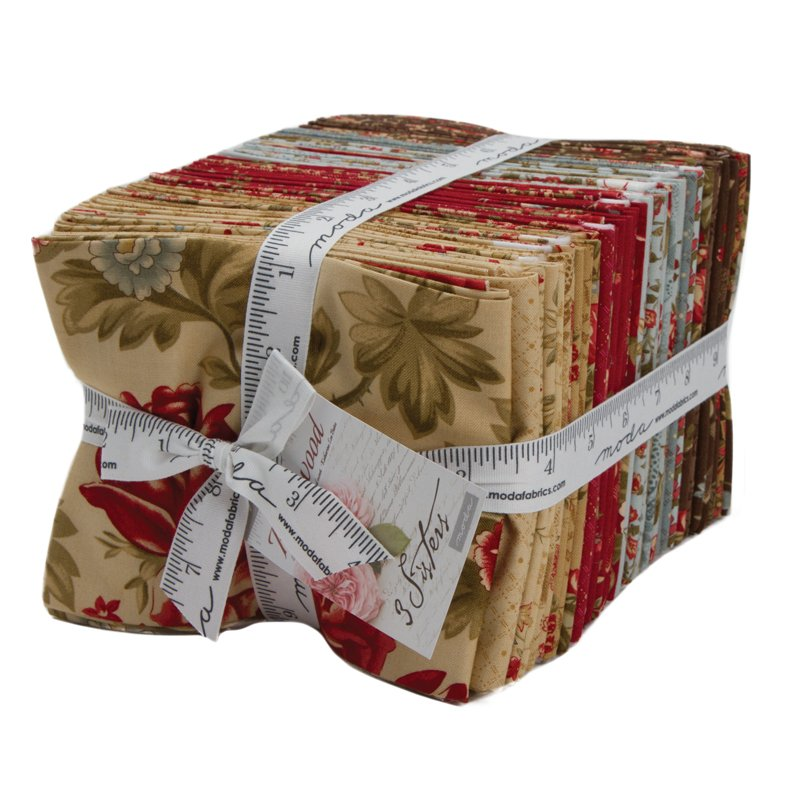 Rosewood Fat Quarter Bundle by 3 Sisters for Moda 44180AB