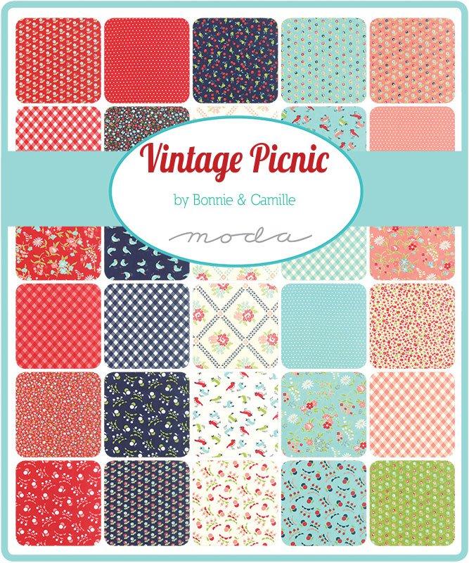 Vintage Picnic by Bonnie and Camille for moda Cream Bundle Fat Quarter Bundle