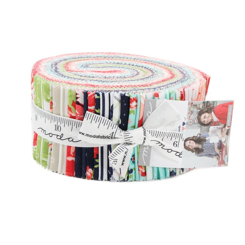 Smitten Jelly Roll by Bonnie & Camille for Moda 55170JR