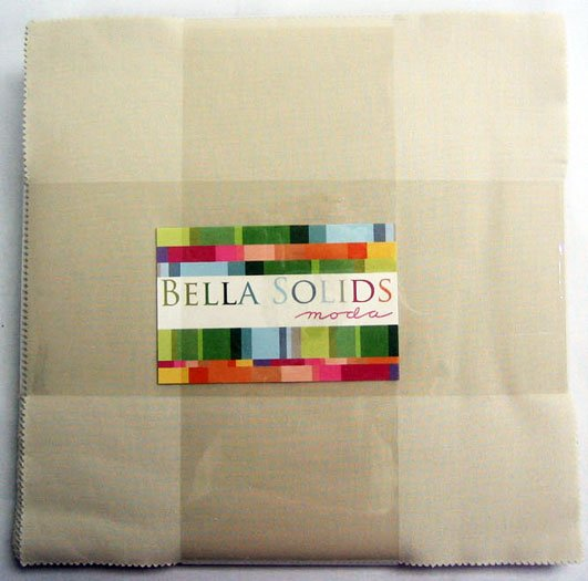 Bella Solids Layer Cake Natural by Moda Classic 9900LC-12
