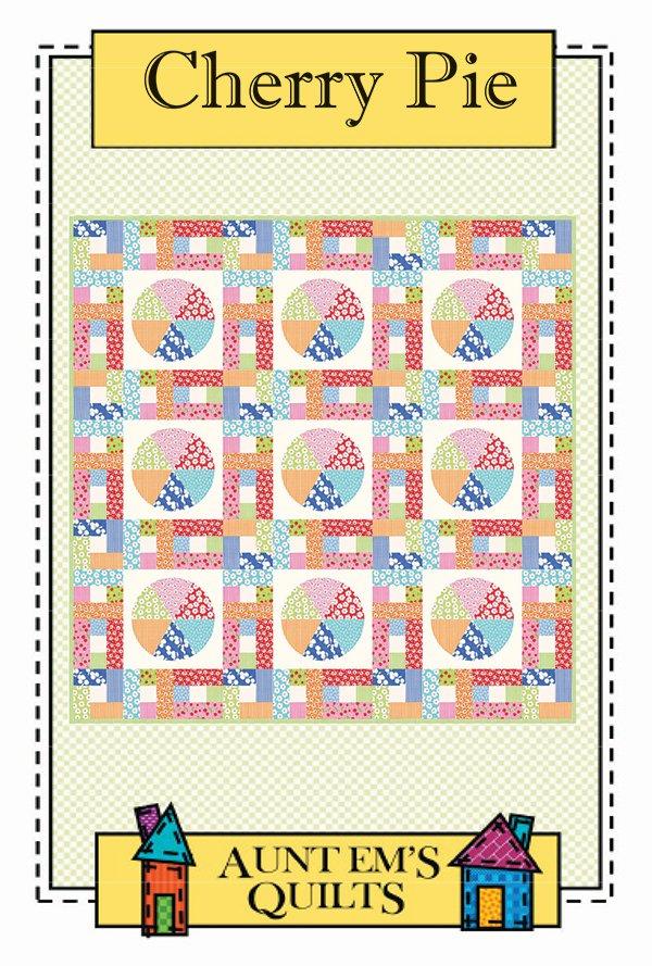 Cherry Pie Quilt Pattern by Aunt Em's Quilts AEQ78