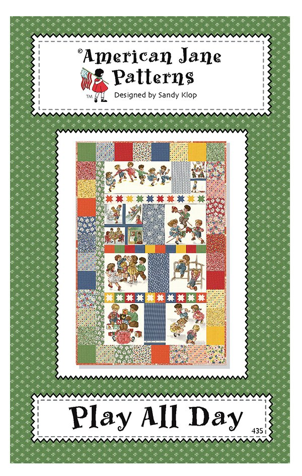 Play All Day Quilt Pattern by American Jane AJ435