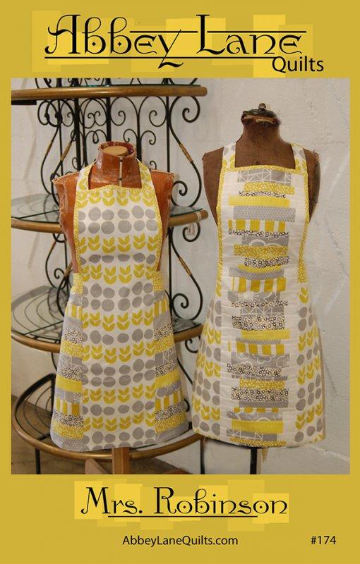 Mrs. Robinson Apron Pattern by Abbey Lane Quilts #ALQ-174