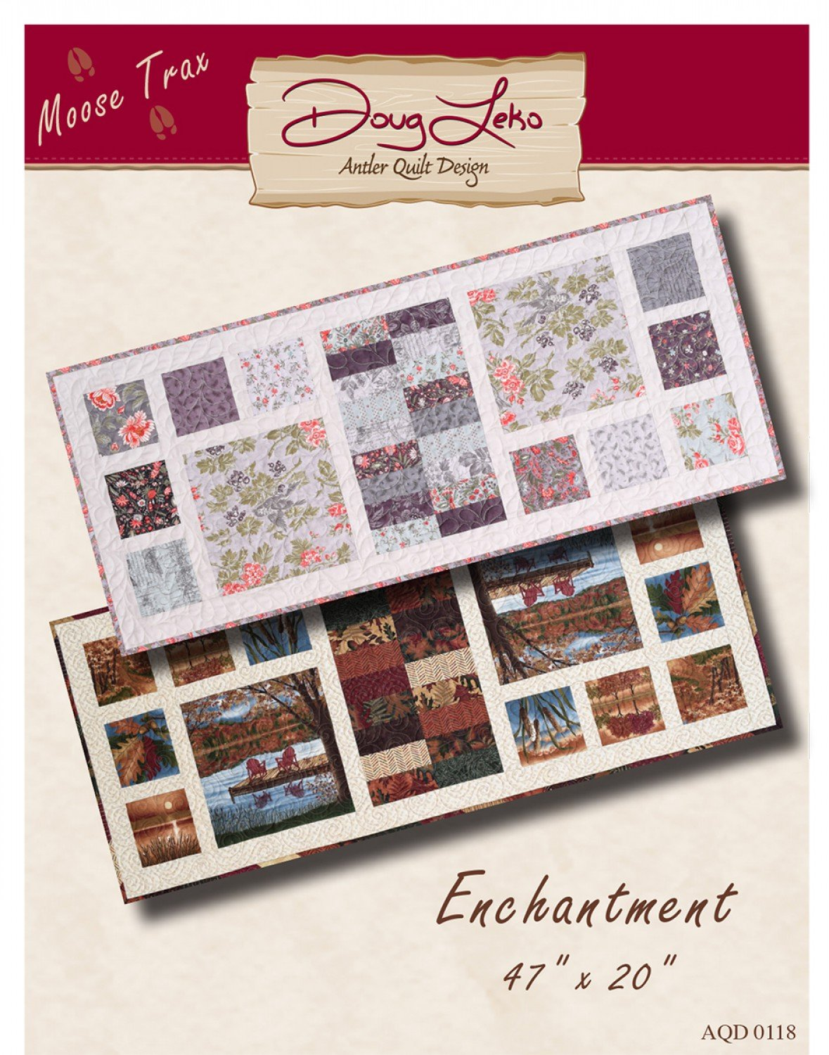 Enchantment Table Runner by Doug Leko for Antler Quilt Designs AQD-0118