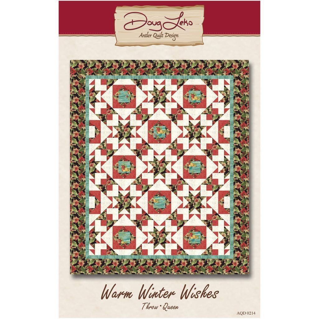 Warm Winter Wishes by Doug Leko for Antler Quilt Designs AQD0214