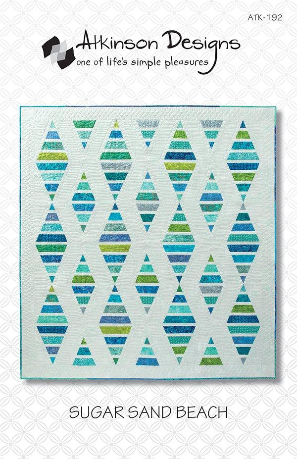 Sugar Sand Beach Quilt Pattern by Atkinson Designs ATK-192