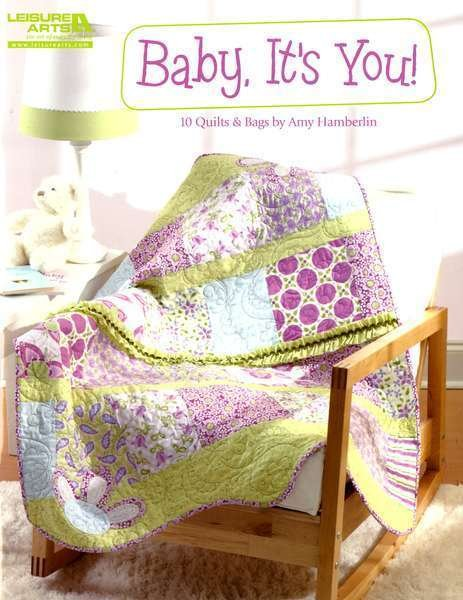 Baby It's You #LA5253 by Amy Hamberlin - Kati Cupcake 10 terrific baby quilt & bag projects