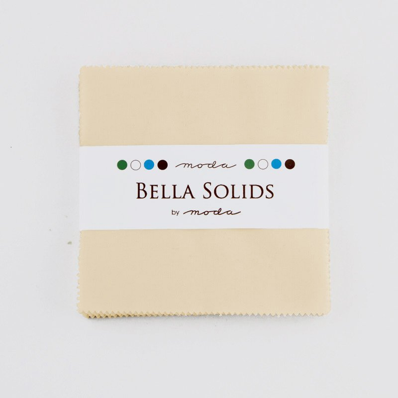 Bella Solids Charm Pack Natural by Moda 9900PP-12